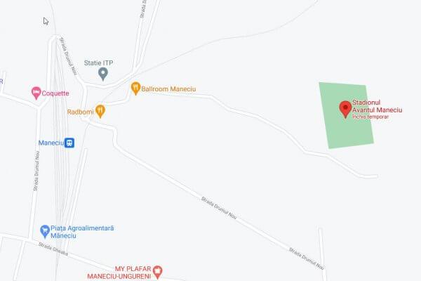 Teren sport Cartier (stadion Avântul), Comuna Măneciu, Sat Măneciu Ungureni, nr. 159